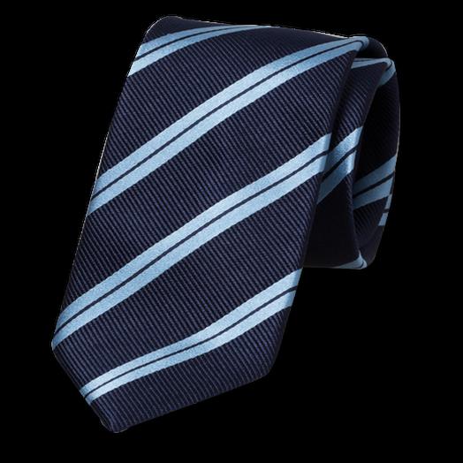 krawatte dunkelblau mit blaue streifen. Black Bedroom Furniture Sets. Home Design Ideas