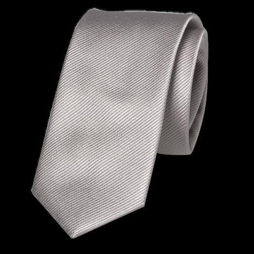 schmale krawatten kaufen schmale krawatte grau silber. Black Bedroom Furniture Sets. Home Design Ideas