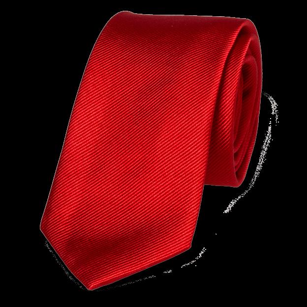 Schmale Krawatten Kaufen? Schmale Krawatte Grellrot