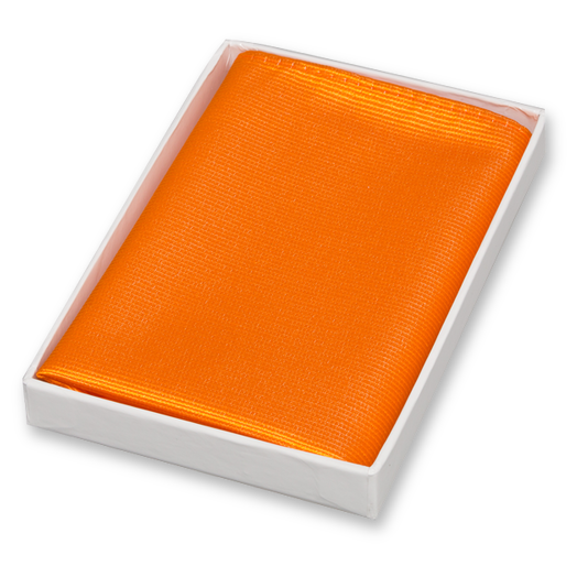 Einstecktuch Orange - Seide (1)