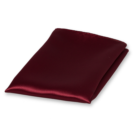 Einstecktuch Bordeaux - Polyester Satin (1)