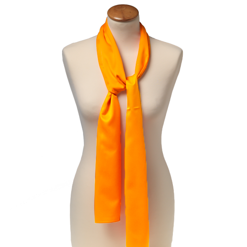 Schal Orange - Poly - 25x160 cm (1)