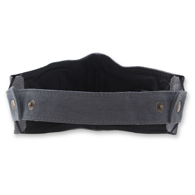 Gesichtsmasken Extension Band - Grau - Wiseguy Suspenders (5)