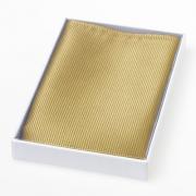 Seideneinstecktuch in gold