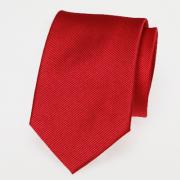 Krawatte rot Seide