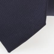schmale Krawatte dunkelblau detail
