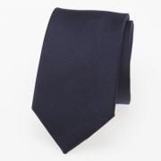 schmale Krawatte dunkelblau