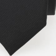 schmale Krawatte schwarz detail