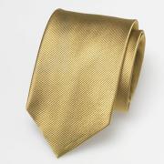 Seidenkrawatte gold
