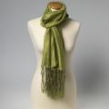 Schal lime grün