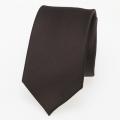 schmale Krawatte dunkelbraun