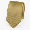 Schmale Krawatte gold