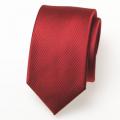 Schmale rote Krawatte